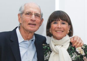 Steve Manheimer and Laure Moutet