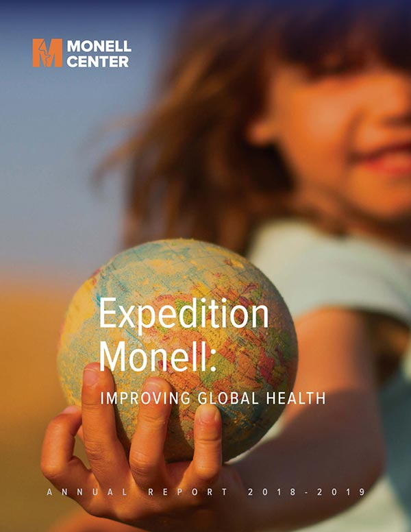 Monell Annual Report 2018-2019 Cover
