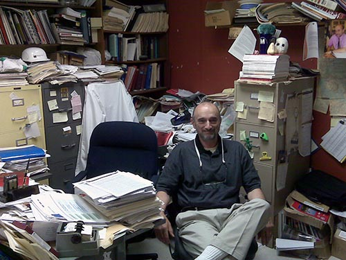 Dr. George Preti at the Office