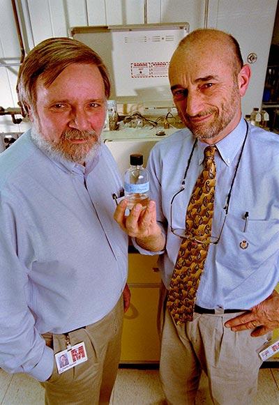Dr. Charles Wysocki and Dr. George Preti